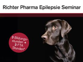 Richter Pharma Epilepsie-Seminar  – Neuigkeiten zum Thema Epilepsie bei Hund und Katze